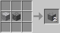 Crafting - Andesite