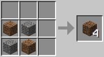 Crafting - Coarse Dirt