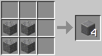 Crafting - Polished Andesite