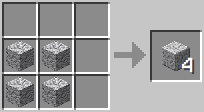 Crafting - Polished Diorite