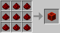 Crafting - Block of Redstone