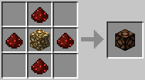 Crafting - Redstone Lamp